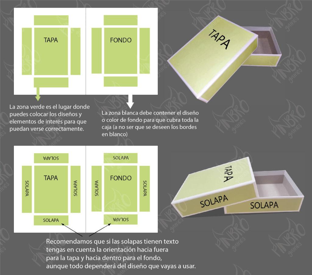 maquetacion cajas juego