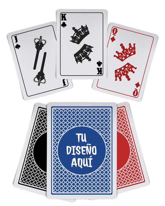 Baraja de poker personalizada